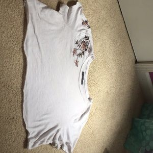 Abercrombie & Fitch cropped t-shirt